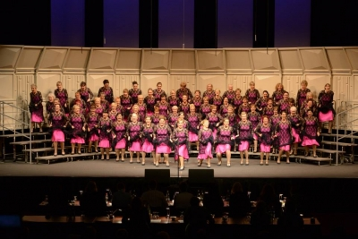 Cheshire Chord Co in their winning performance