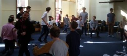 Action shot of Sitting-Standing-Kneeling